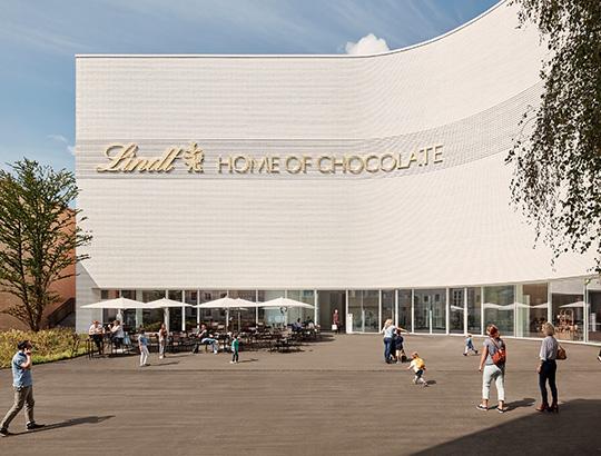 La Lindt Home of Chocolate à Kilchberg