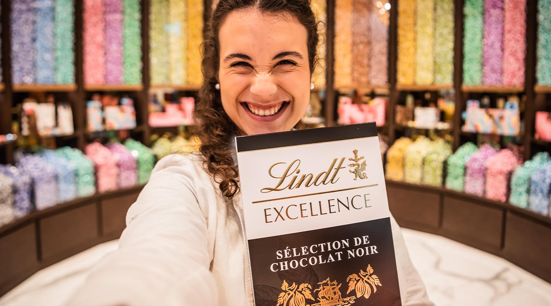 Schokolade, die Freude macht