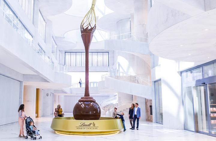 The fantastic chocolate fountain